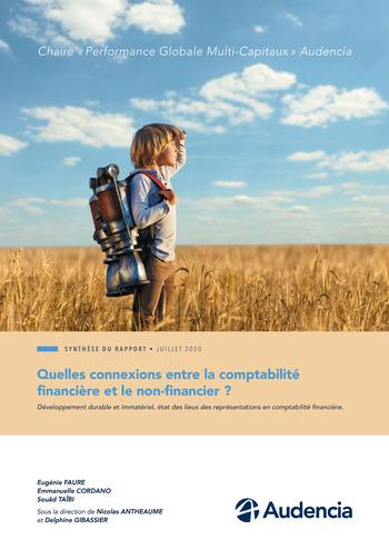 Quelles connexions entre la comptabilité financière et le non-financier ? / Synthèse / Audencia page 1