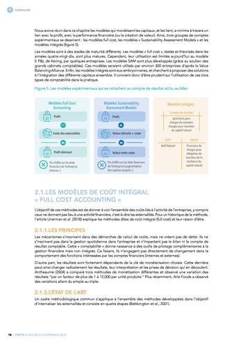 Quelles connexions entre la comptabilité financière et le non-financier ? / Synthèse / Audencia page 18