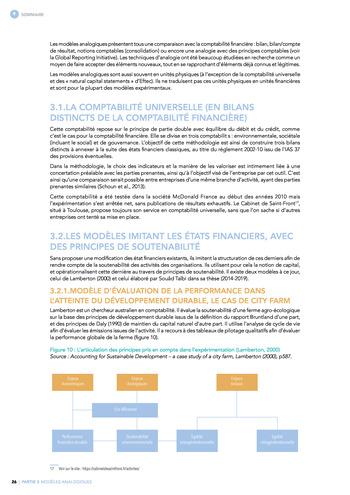 Quelles connexions entre la comptabilité financière et le non-financier ? / Synthèse / Audencia page 26