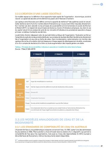 Quelles connexions entre la comptabilité financière et le non-financier ? / Synthèse / Audencia page 27