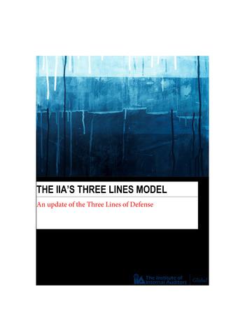 Position Paper - The IIA's Three lines Model - IIA - 2020 page 1