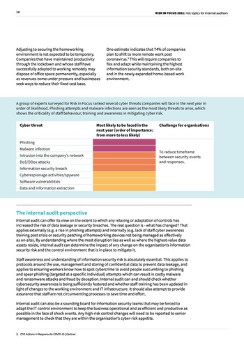 Risk in Focus 2021 - Full Report page 14