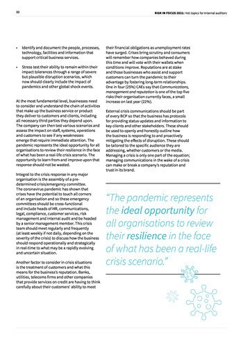 Risk in Focus 2021 - Full Report page 32
