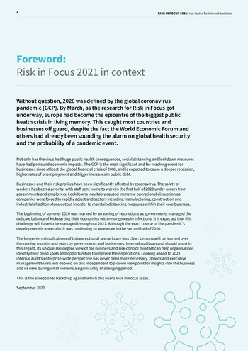 Risk in Focus 2021 - Full Report page 4