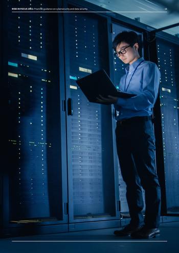Risk in Focus 2021 - Guide pratique - Cybersecurité et sécurité des données page 15
