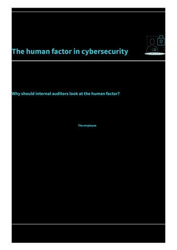 Risk in Focus 2021 - Guide pratique - Cybersecurité et sécurité des données page 5
