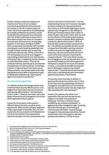 Risk in Focus 2021 - Guide pratique - Cybersecurité et sécurité des données page 6
