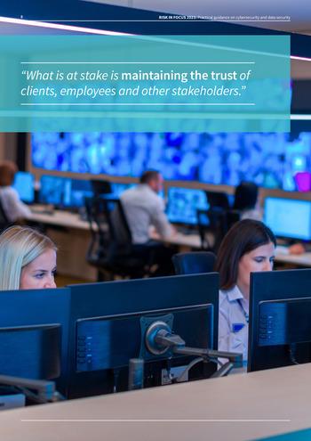 Risk in Focus 2021 - Guide pratique - Cybersecurité et sécurité des données page 8