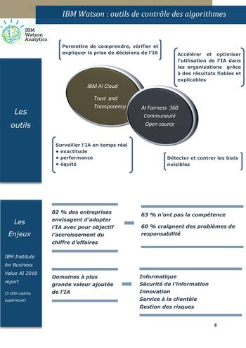 L'auditeur interne et les algorithmes d'IA page 8